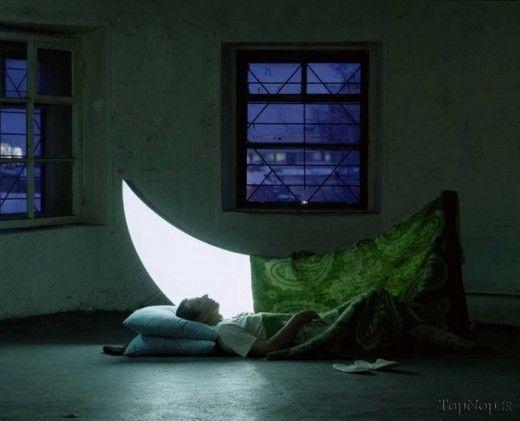ماه من. اثر هنرمند روسی لئونید تیشکوف